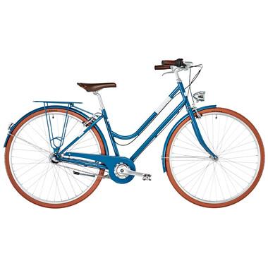 Bicicletta Olandese ORTLER SVENJA TRAPEZ Blu 2019